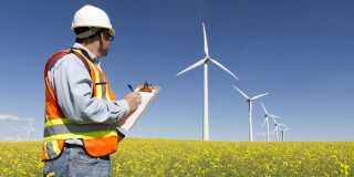 Lone worker safety at the wind farm