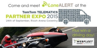Come and meet LONEALERT at the TomTom TELEMATICS Partner Expo 2015
