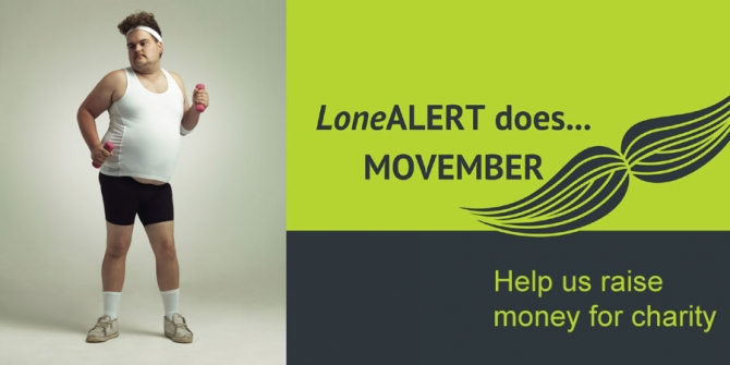 We're moving for Movember!