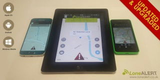 Meet the updated and upgraded LONEALERT Smartphone apps