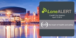 LONEALERT continues drive to improve workplace safety at IOSH conference