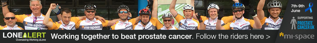 LONEALERT & Mi-space together to beat prostate cancer, click here to follow the riders