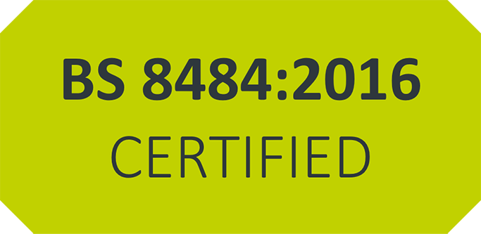 LONEALERT is BS 8484:2016 certified