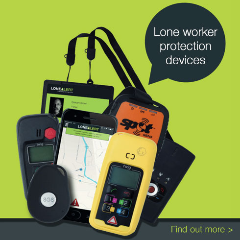 Lone worker devices from LONEALERT