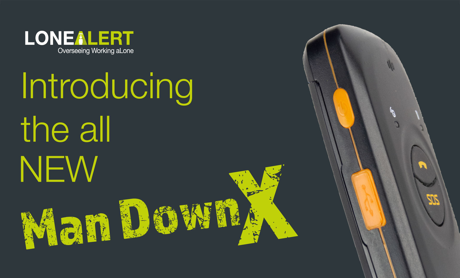 Introducing the all NEW Man Down X from LONEALERT