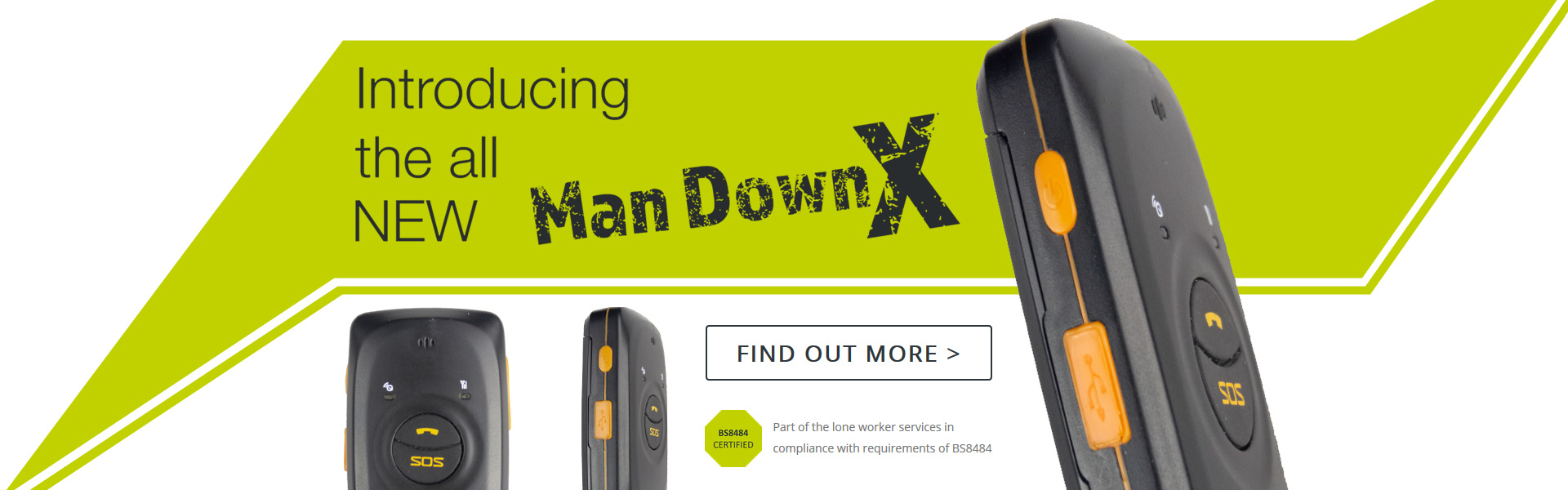 Introducing the all NEW Man Down X