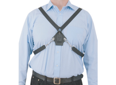 Alternative wearing position with comprehensive harness
