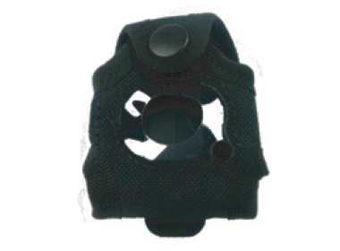 SOS Fob Carry Pouch with attached clip for attaching to clothing