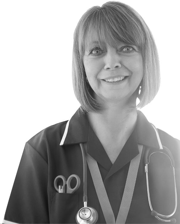 Sandra, District Nurse
