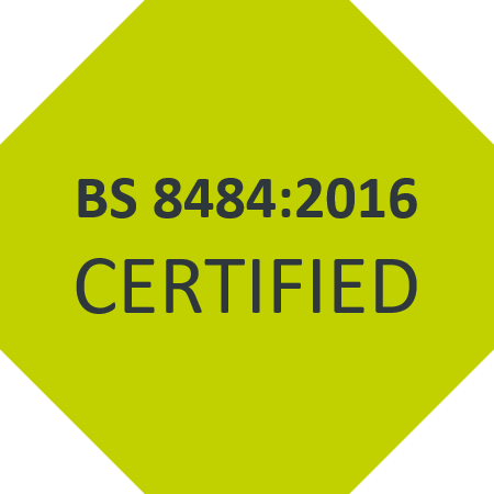 Lone worker device BS8484 certified