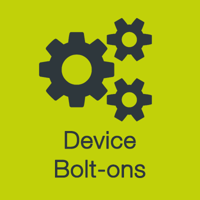 View device bolt-ons