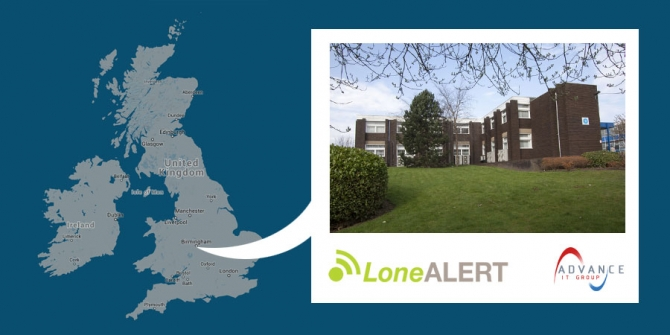 LONEALERT expands into bigger premises as demand soars
