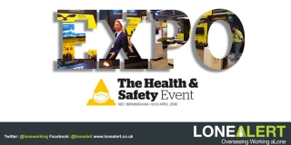 LONEALERT is attending the Health and Safety Event 10th-12th April 2018, NEC Birmingham