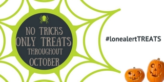 Forget the tricks this Halloween, LONEALERT is making this season all about the treats!