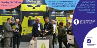 LONEALERT hand selected to showcase its solutions at  Lone Worker Safety Expo 2019