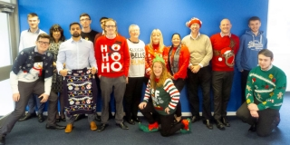 LONEALERT goes crackers for Christmas jumpers