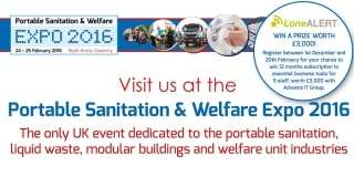 LONEALERT to showcase unique lone worker protection range at Expo